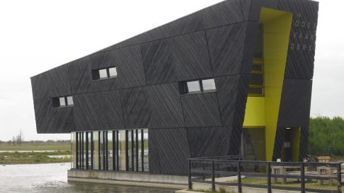 Natuurbelevingscentrum bouw 1